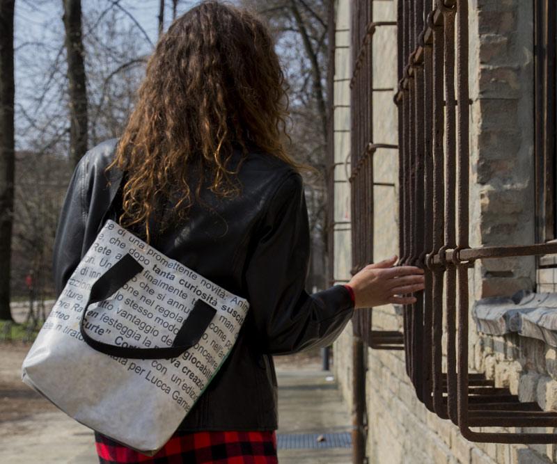 nuovo arrivo 2cf40 0bca1 Shopping Bag con tracolla - Epico